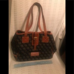 Dooney & Burke Shadow Signature Print Handbag